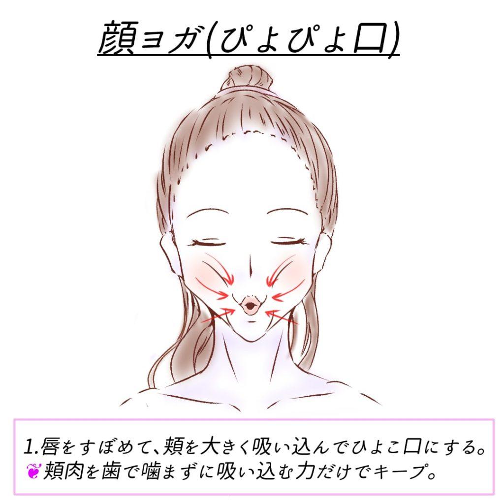 顔ヨガ_ぴよぴよ口2