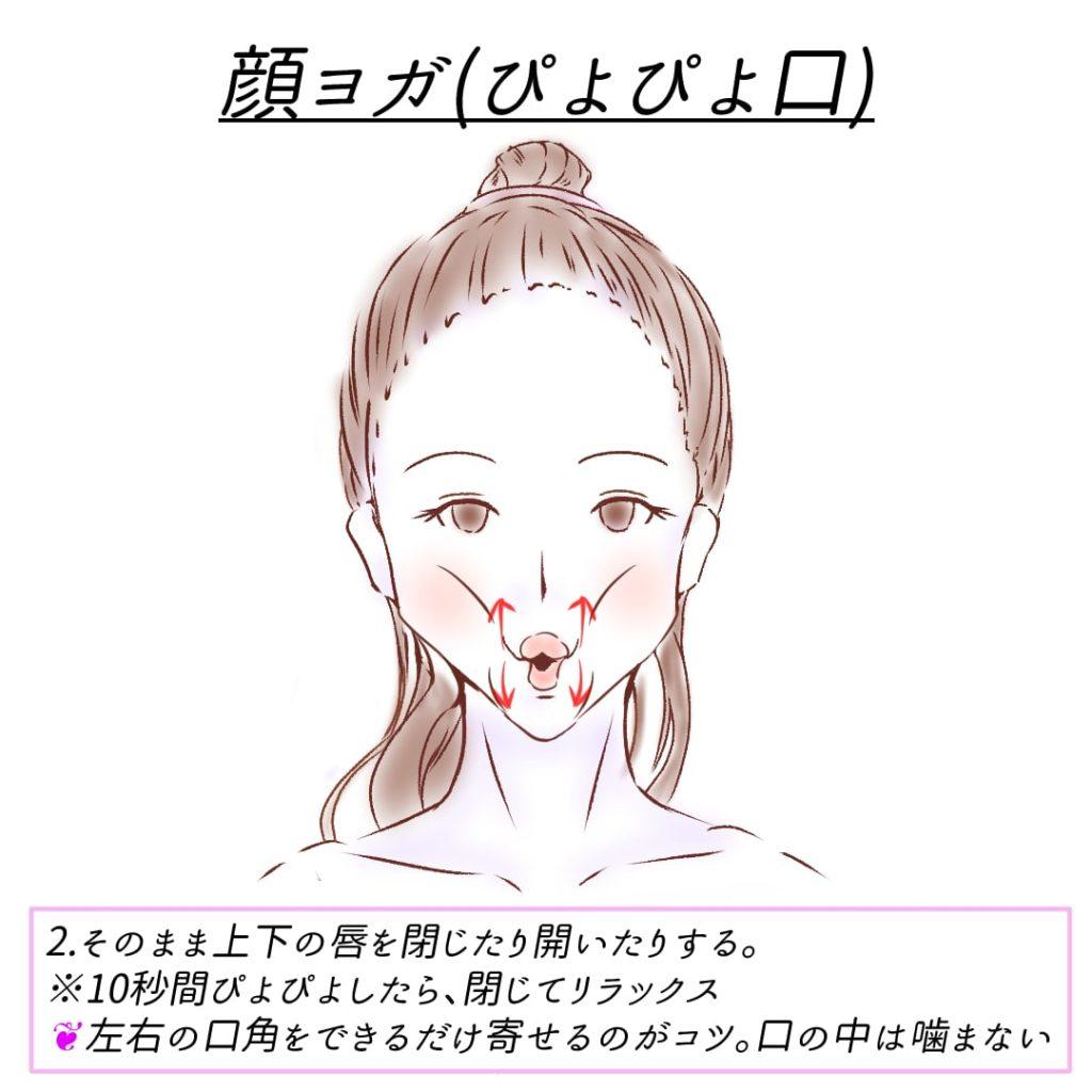 顔ヨガ_ぴよぴよ口3