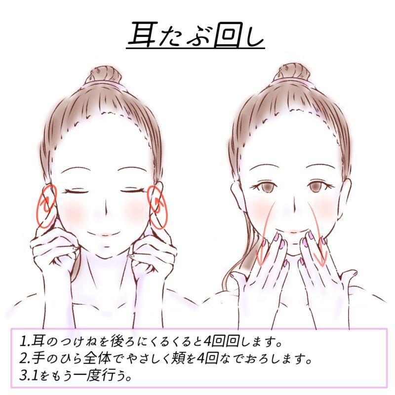 耳たぶ回し2